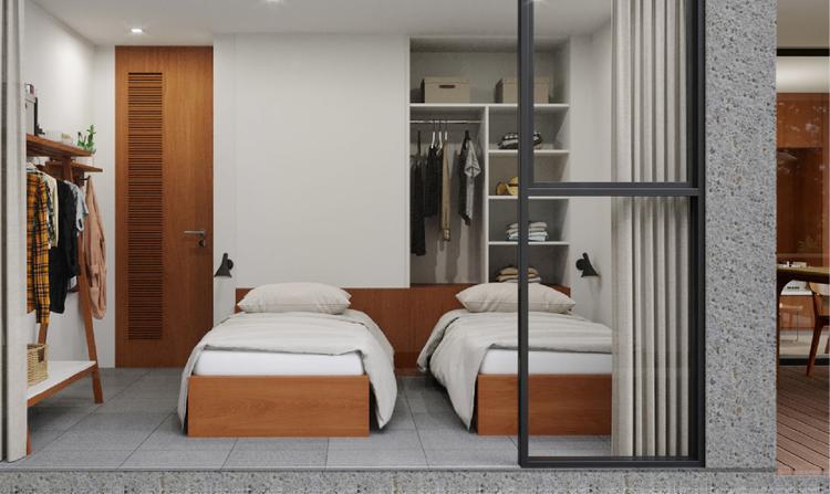 Kamar Tidur Pineville Premium